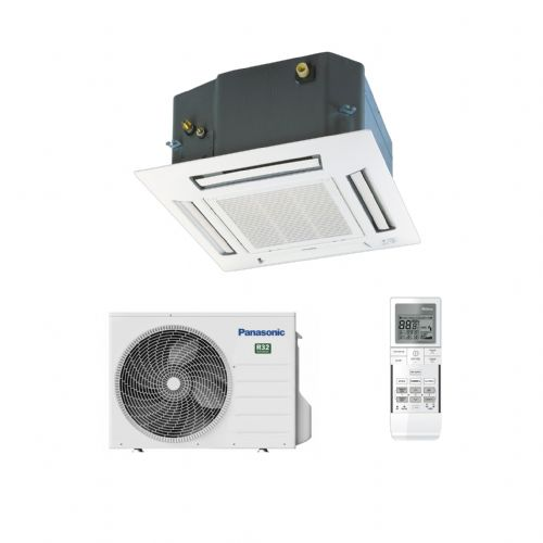 Panasonic Air Conditioning Mini Cassette Heat Pump CS-Z25UB4EAW 2.5Kw/9000Btu R32 A+ 240V~50Hz